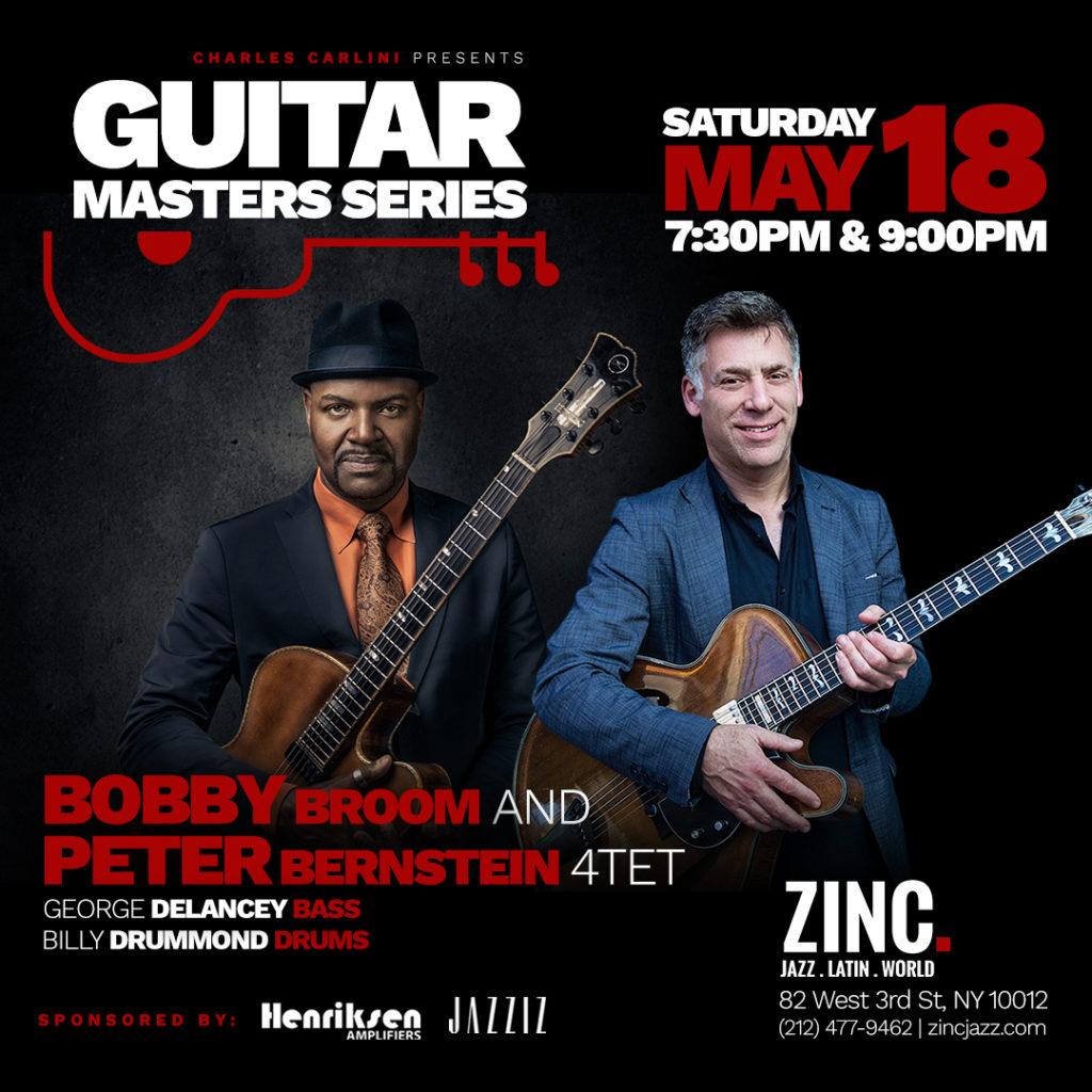 Guitar Master series 20190518 Peter Bernstein and Bobby Broom zinc ny instagram