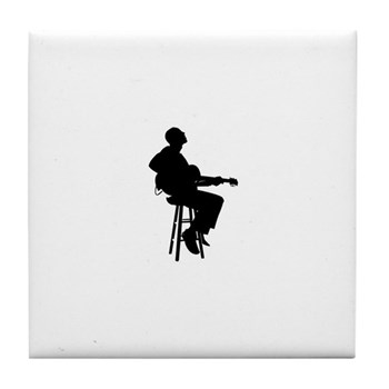 bobby_broomjazz_guitarist_tile_coaster